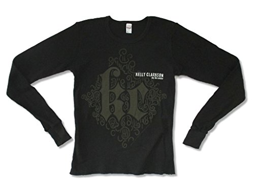 - Royal Kelly Clarkson My December KC Girls Juniors Black Thermal Shirt (M)
