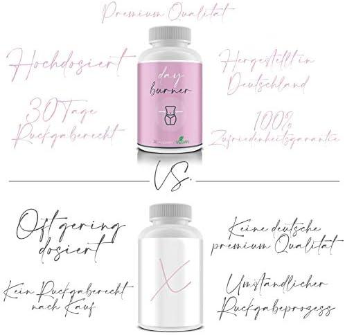 Day Burner Pink - Einfach in den Tag starten - abnehmen leicht gemacht - Effektive Fettreduzierung - Kalorien brutzeln lassen - Vegan - 30 Tage Geld-Zurück-Garantie - Hochdosiert