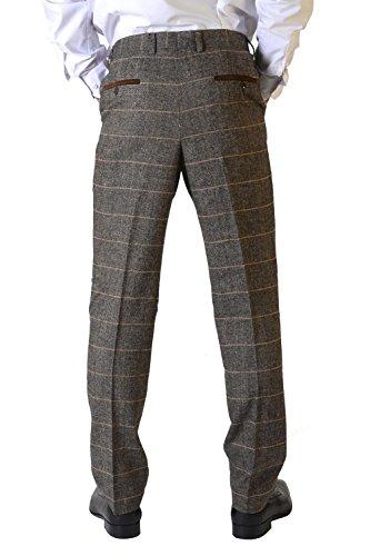 Marc Darcy - Pantalon - Pantalon - Homme marron peau Auditor's Target Value