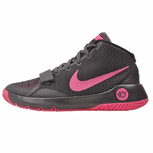 Nike KD TREY 5 III (GS) boys basketball-shoes 768870-005_7Y - ANTHRACITE/BLACK/VIVID PINK (Kd Basketball Shoes For Kids)