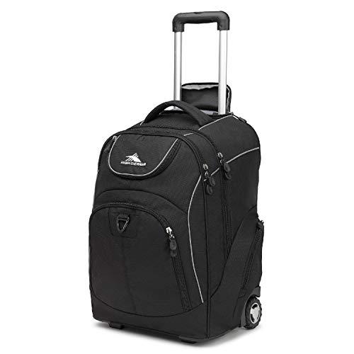 High Headphone Sierra - High Sierra Powerglide Wheeled Book Bag (21 x 14 x 9-Inch, Black )
