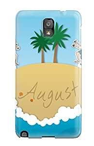 Forever Collectibles August Summer Hard Snap-on Galaxy Note 3 Case