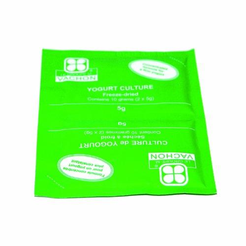 Yogurt Culture 2-Packs (Sealed Together) of 5-Gram Each (Yogurt Starter Kit)
