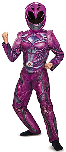 Power Rangers Movie Pink Ranger Deluxe Muscle Child Costume