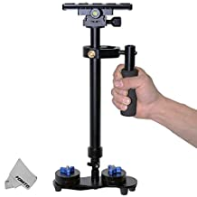 Fomito Portable S60 Max Hight 0.6 Meter Handheld Stabilizer Pro Version for Camera Video DV DSLR - Weight Bearing Capability 0.2-3.5 Kilogram (7 Pound)