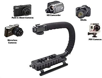 Pro Video Stabilizing Handle Grip for Nikon D40X Vertical Shoe Mount Stabilizer Handle