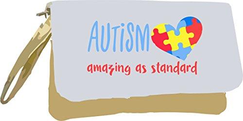Metallic Autism Awareness Bag Clutch Standard As Amazing Gold Gold Yqp4rY