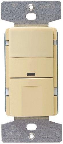 Cooper Wiring OS306U-V-K Occupancy/Vacancy Sensor 1/6 HP, Iv