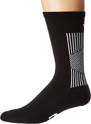 e11e26c3c1eec adidas Originals Men's EQT II Single Crew Sock Black/White 10-13