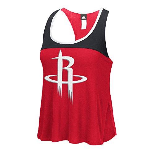 NBA Houston Rockets Women's Color Block Tank Top, Medium, -