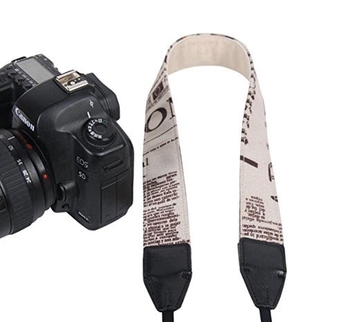 LYNCA TARION Camera Shoulder Neck Soft Vintage Jacquard Weave Strap Belt for SLR DSLR Mirrorless Digital Cameras Nikon Canon Sony Pentax B Style Brand