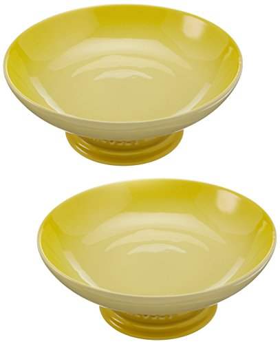 Le Creuset Stoneware Footed Serving Bowl - Soleil ()