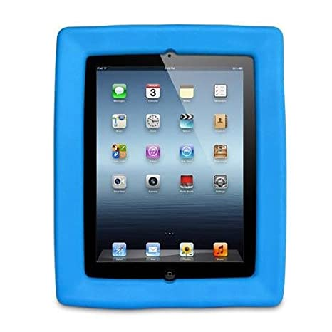 Big Grips Marco para Apple iPad 2, 3 o 4 - Azul Funda Soporte: Amazon.es: Electrónica