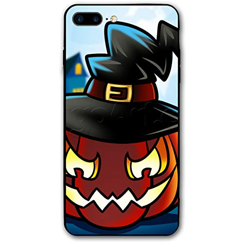 How-to-Draw-a-Halloween-Pumpkin 1 000000020888 5 iPhone 7 Plus Case iPhone 8 Plus Case Shock-Absorption Bumper Cover -