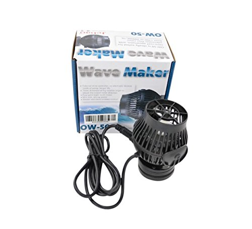Jebao OW-50 Wavemaker 423-5283 gph with Controller and Magnet Mount by Jebao