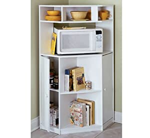 Corner Microwave Stand (PINE)