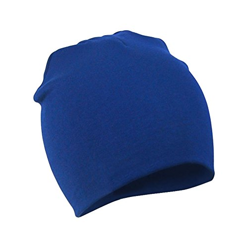 (FUNOC Baby Girl Boy Toddler Infant Kids Children Soft Cute Lovely Knit Hat Beanies Cap (Royal Blue))