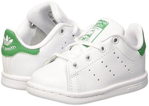 – Stan 0 24 Adidas Bimbi Bianco Smith Pantofole Unisex I verde 000 ftwbla UXwURf