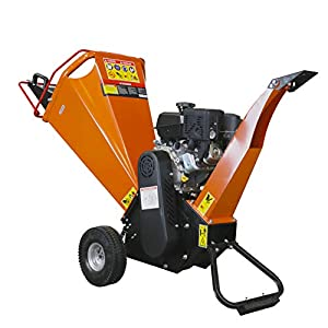 TMG Industrial 4″ Wood Chipper with 7HP Kohler Engine and Automatic Low-Oil Shutdown