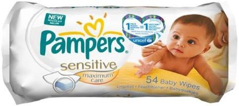 Pampers 81374434 Lingettes Maximum Care 1 x 54 Lingettes