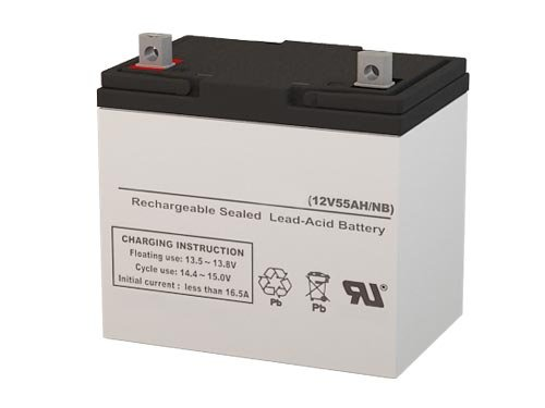 Universal 12V 55AH Group 22NF FOR Scooters and Electric WheelChairs SigmasTek SP12-55 NB