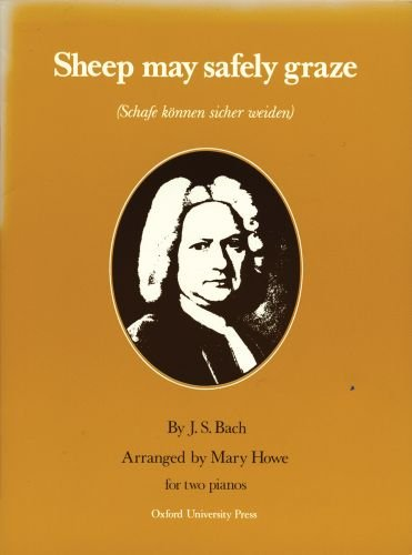Read Online Sheep may safely graze: 2 pianos pdf