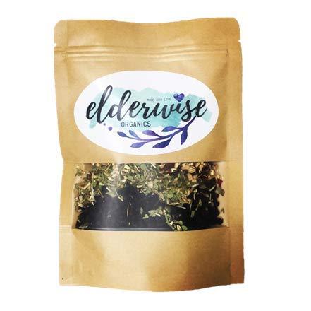 Elderberry Syrup Kit - Makes 32oz - Organic Ingredients - DIY - Elderberries - Rosehips - Ginger - Echinacea - Cinnamon - Cloves