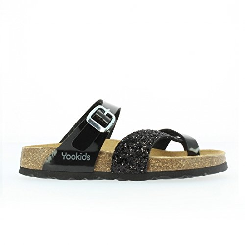 YOOKIDS - Tongs / Sandales - Bear - Noir