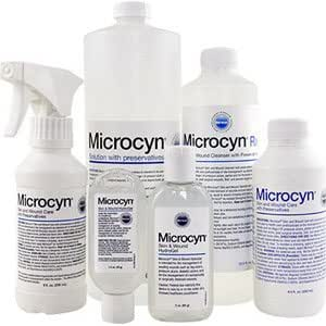 Microcyn Skin And Wound Care With Preservatives, 250 Ml Part No. 84491 (12/case)