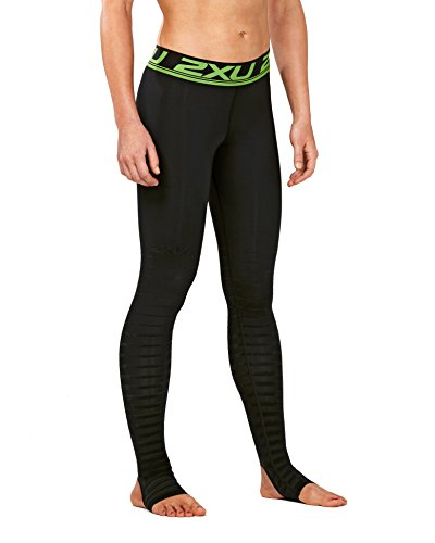 2XU Women's Elite Power Recovery Compression Tights, Black/Nero, ()