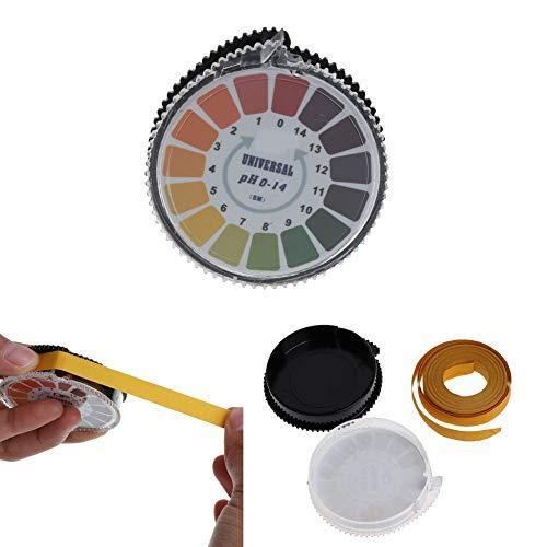 Jacana-Boutique - Round 5m 0-14 PH Alkaline Acid Indicator Paper Water Urine Saliva Litmus Testing PH Test Paper-831F