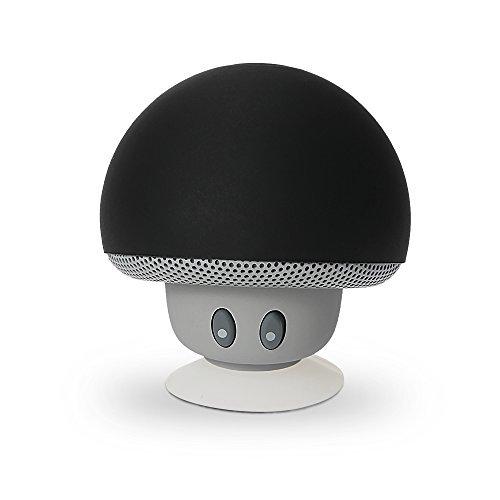 9 opinioni per Marsboy Mini Funghi Altoparlante Cassa Bluetooth V3.0+EDR Stereo con Silicone