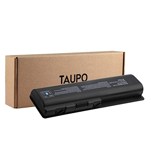 TAUPO Laptop Battery for HP Pavilion DV4-1000 DV4-2000 DV5-1000 DV6-1000 DV6-2000 CQ50 CQ60 CQ70 G50 G60 G60-549DX G60T G61 G70 G71 Series, Fits P/N 484170-001 EV06 KS524AA KS526AA (1002au Battery)