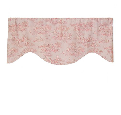 Priority Window Valances Bubblegum Pink Toile Valance for Baby and (Bubbles Valance)