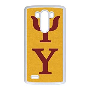 Psi Upsilon Symbol Yellow LG G3 Cell Phone Case White Protect your phone BVS_720438