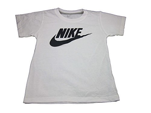 Nike Boys Toddler T-Shirt (2T, White/Grey (767065))