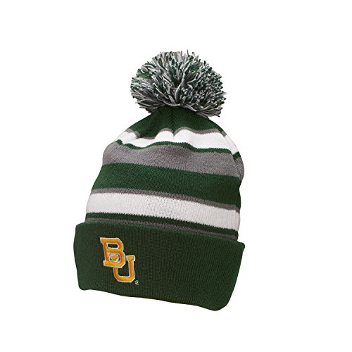 A Baylor Bears Comeback Beanie, One Size, Forest/White/Graphite ()