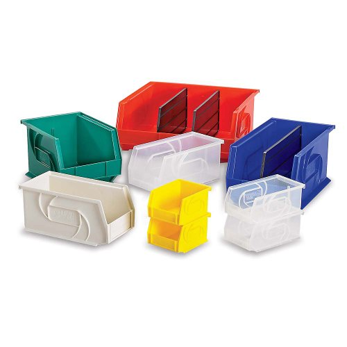 Hang and Stack Bin, 10-7/8 In L, 11 In W
