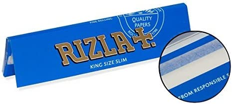Details about  /RIZLA BLUE Rolling Papers Thin 1x FULL BOX /& 29=129 Booklets Regular Size
