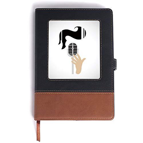 - Rown Notebook,Elvis Presley Decor,for Men & Women - A5/6.04x8.58 in