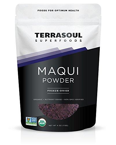 Terrasoul Superfoods Maqui Berry Powder (Organic), 4 Ounce