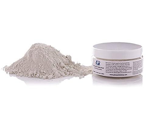 Cerium Oxide Glass Polishing Powder 2.5µm TREO 95% - 1.75 oz (50g) Fine Grade