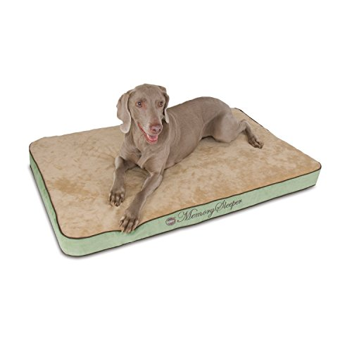K&H Pet Products Memory Sleeper Memory Foam Pet Bed Large Sage 29