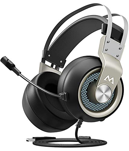 Switch Omni Directional (Mpow EG3 Gaming Headset, 7.1 Surround Sound Gaming Headphones for FPS Game, 50mm Driver, Stereo Over-Ear USB Computer Headset with Noise Cancelling Mic, LED Light, Easy Volume/Mic Control for PC, PS4)