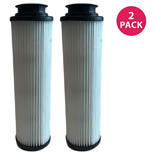 Vacuum 40140201 Filter Hepa Replacement (Think Crucial 2 Replacements for Hoover Windtunnel Bagless HEPA Style Filter Fits Empower & Savvy, Compatible With Part # 40140201, 43611042 & 42611049, Washable & Reusable)