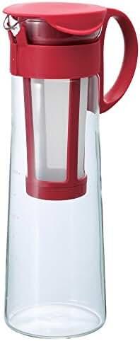 Hario Mizudashi Cold Brew Iced Coffee Pot/Maker (1000ml, Red)