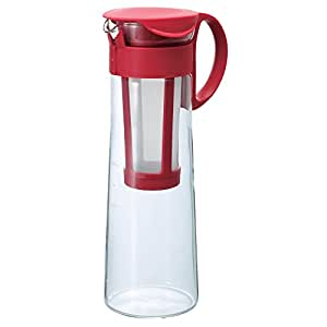 "Hario""Mizudashi"" Cold Brew Coffee Pot, 1000ml, Red"