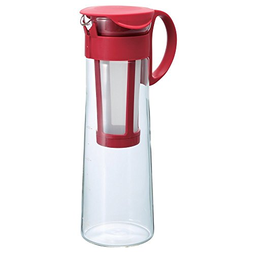 Hario''Mizudashi'' Cold Brew Coffee Pot, 1000ml, Red by Hario
