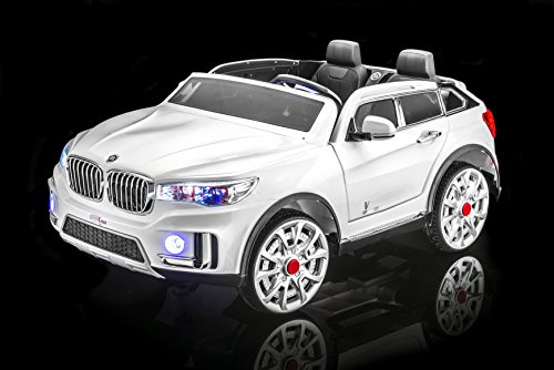 SPORTrax BMW X7 Style Kid's Ride On Car, 2 Seater, Battery P
