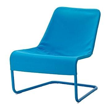 Ikea LOCKSTA - Silla fácil, Azul: Amazon.es: Hogar